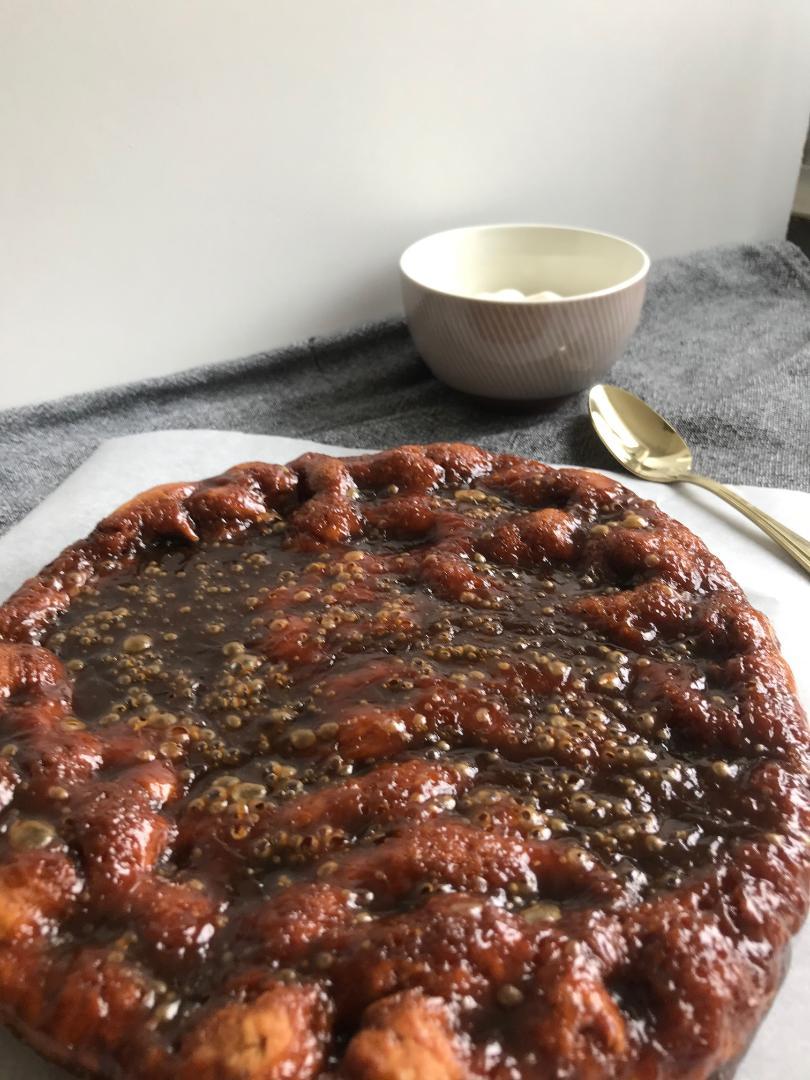 brunsviger kage på 30 minutter