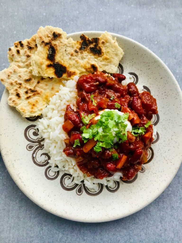 chili con carne vegetarisk